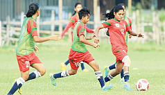 Bangladesh girls up for unofficial...