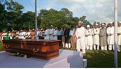 Poet Shamsul Haq laid to rest where...