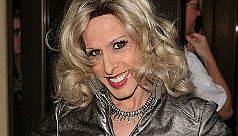 Transgender actress Alexis Arquette...