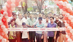 Apex opens new outlet in Robindro Sarani,...