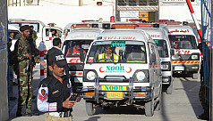 60 killed in attack on Pakistan police...