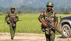 Ethnic rebel insurgents attack in Myanmar...