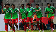 Saddened Bangladesh football team face...