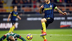 Relief for De Boer as Icardi gives Inter...