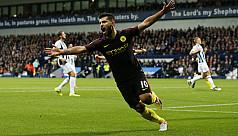 Guardiola sings two-goal Aguero's...