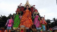 Country's tallest Durga ready
