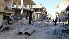 Syria conflict: Besieged areas of Aleppo...