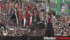 Ashura being observed across...