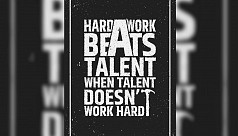 Natural talent, hard work, and...