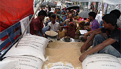 Rice meant for poor