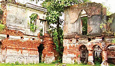 Pabna Zamindar Bari turns to ruin