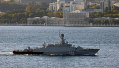 Two Russian warships head to Mediterranean...