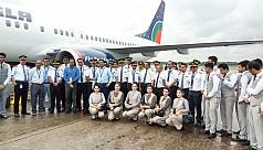 US-Bangla launches flight on Dhaka-Muscat...