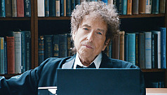 Bob Dylan acknowledged the Nobel...