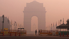 Smog chokes New Delhi after Diwali