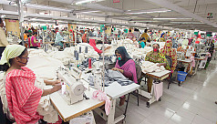 Female garment worker dies at work