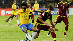 Brazil go top of South American group,...
