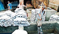 Housing facilities for tannery workers...