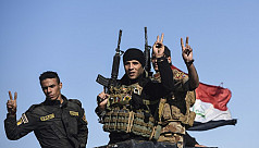 Iraqi forces in new push into