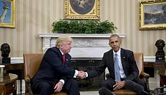 Trump and Obama set campaign rancour...