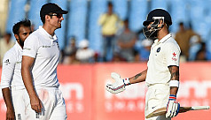 Kohli denies England win in first...
