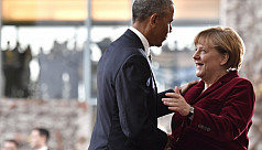 Obama, Merkel issue joint rebuttal to...