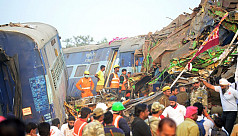 Over 100 killed as Indian train...