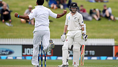NZ recover on rain affected day