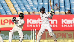 Hameed hits maiden fifty, England lead...