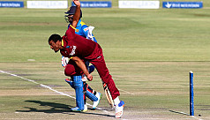 Carter, Powell spur WI to win over...