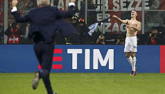 Inter's Perisic snatches last-gasp draw...