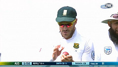 Du Plessis guilty of ball-tampering,...