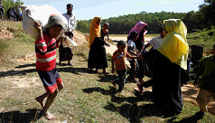 107 Rohingyas pushed back by BGB