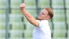 Stokes: Shakib battles hard for the...