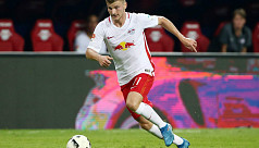 Newcomers Leipzig go level with...