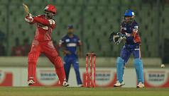 Tamim, Gayle power Chittagong
