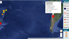 Large 6.2 magnitude earthquake hits...