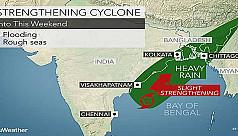'Nada' may make landfall as cyclone...