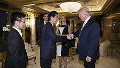 Japan PM confident in Trump's diplomacy debut