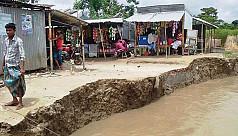 River erosion renders 7,000...