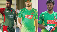 Tamim, Sakib and Mashrafe to get tax...