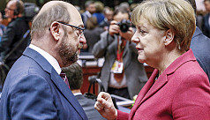 EU parliament chief Schulz setting stage...