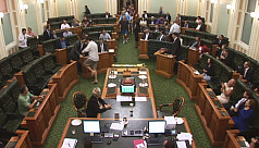 Watch: Barely clothed Queensland MPs...