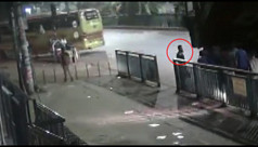 Footage shows picking up of man thought...