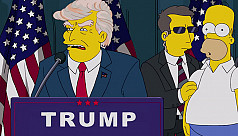 The Simpsons called it first, President...
