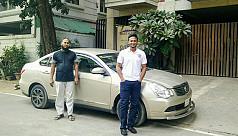 Shakib rides Uber