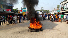 Teacher-students shut down upazila for...