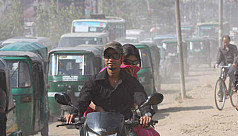 Polluted air continues to affect residents...