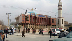 Suicide blast at at Shia mosque in Afghanistan...