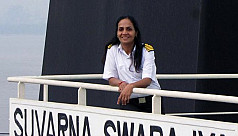 India's first female merchant navy captain...